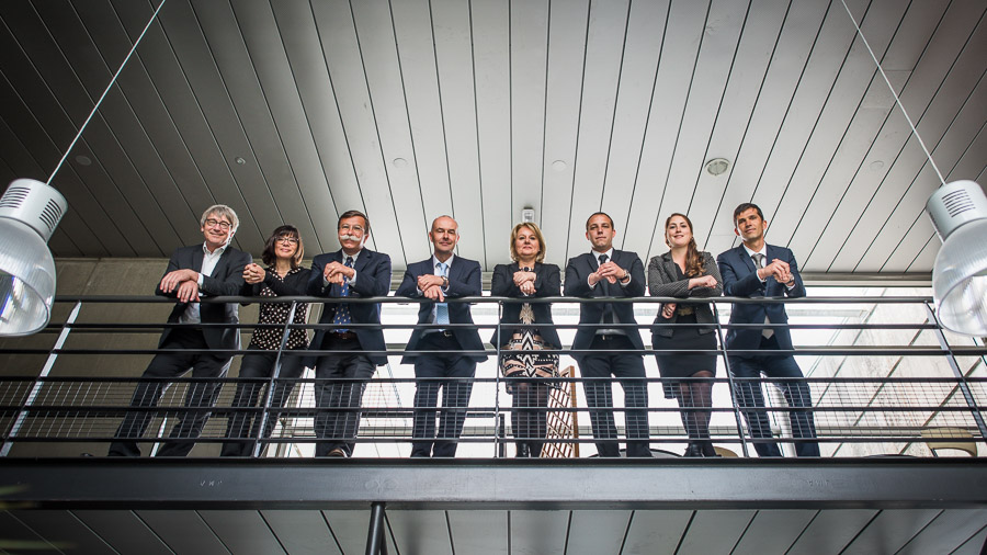 portrait équipe corporate